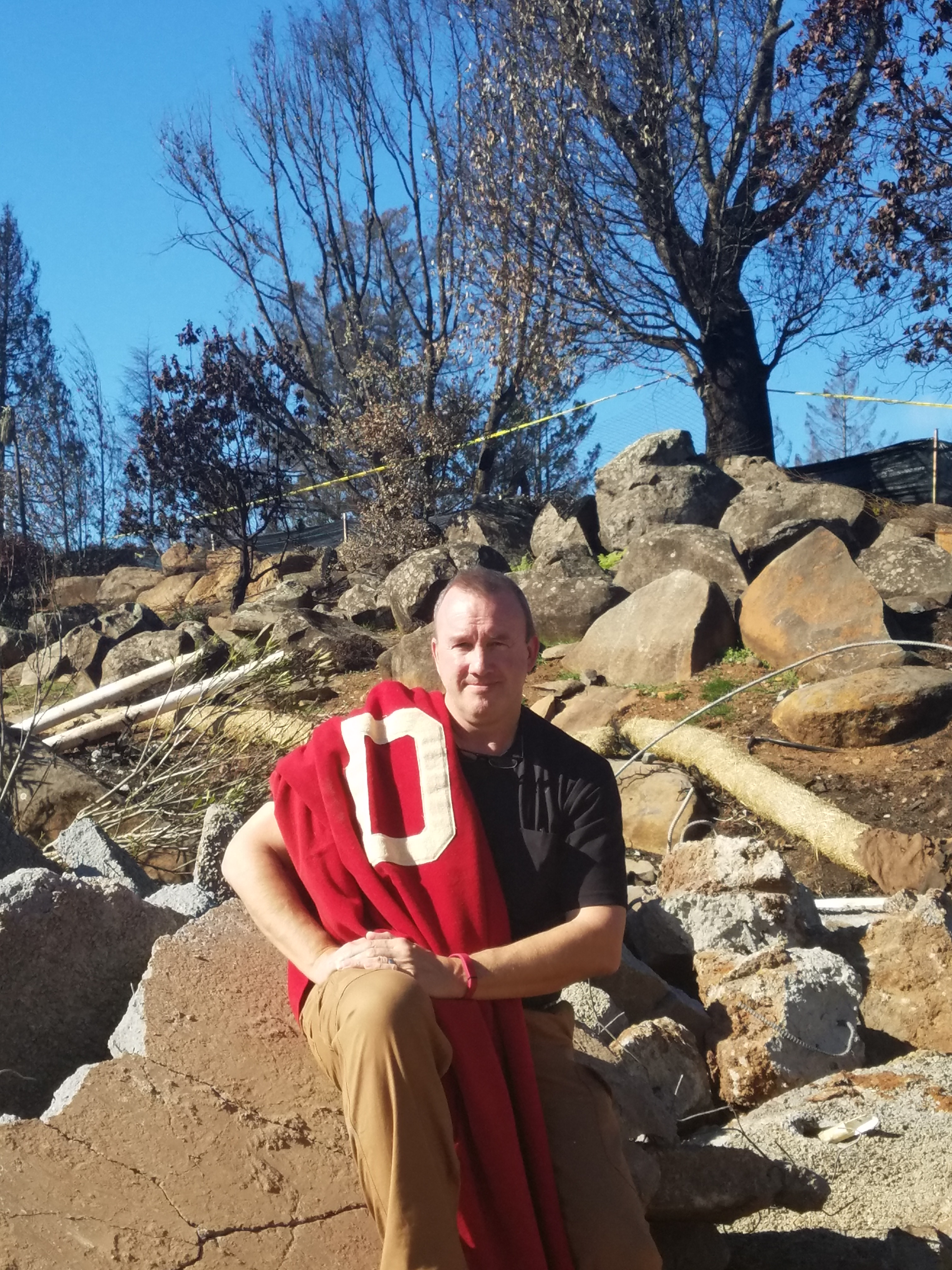 A Tubbs Fire Story:  Somethings Lost, Something Found